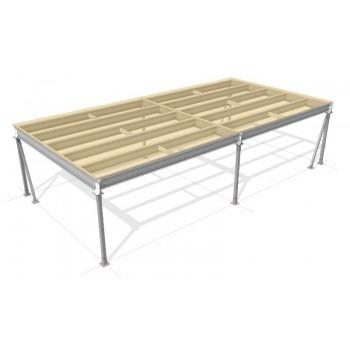 Lagerbühne 12 x 5 : 500 kg/m2